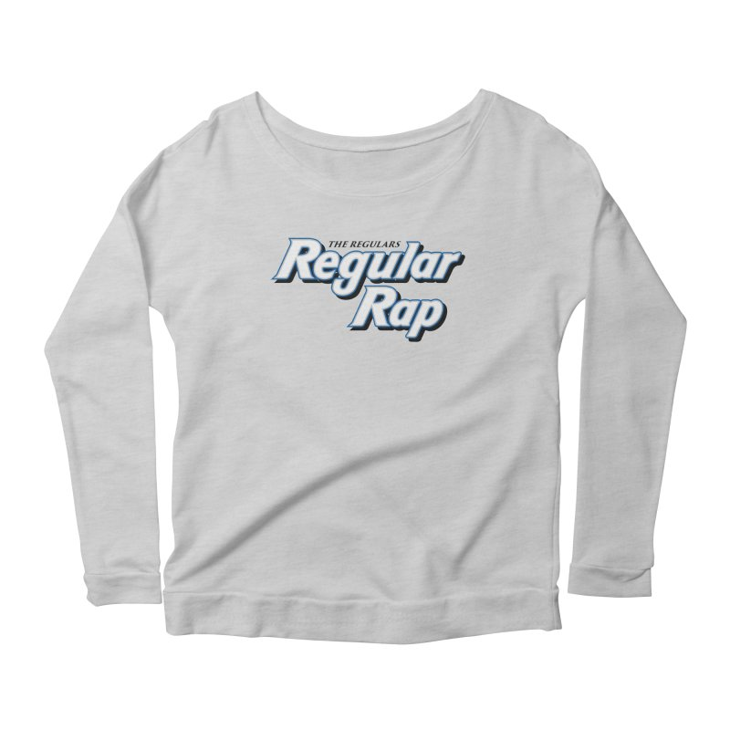 Regular Rap Women's Scoop Neck Longsleeve T-Shirt by RIK.Supply
