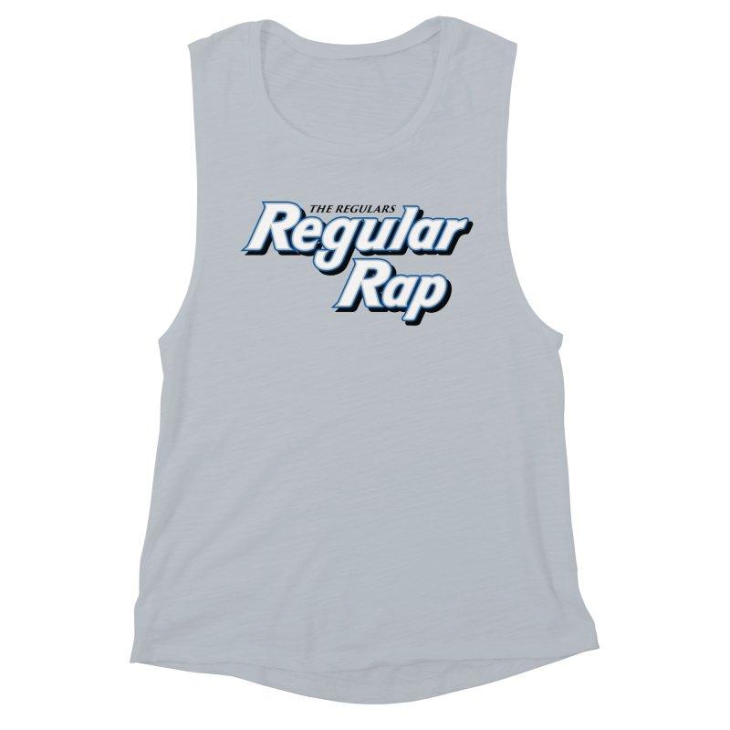 Regular Rap Women's Muscle Tank by RIK.Supply
