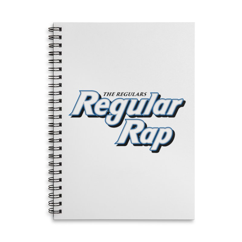 Regular Rap Accessories Lined Spiral Notebook by RIK.Supply
