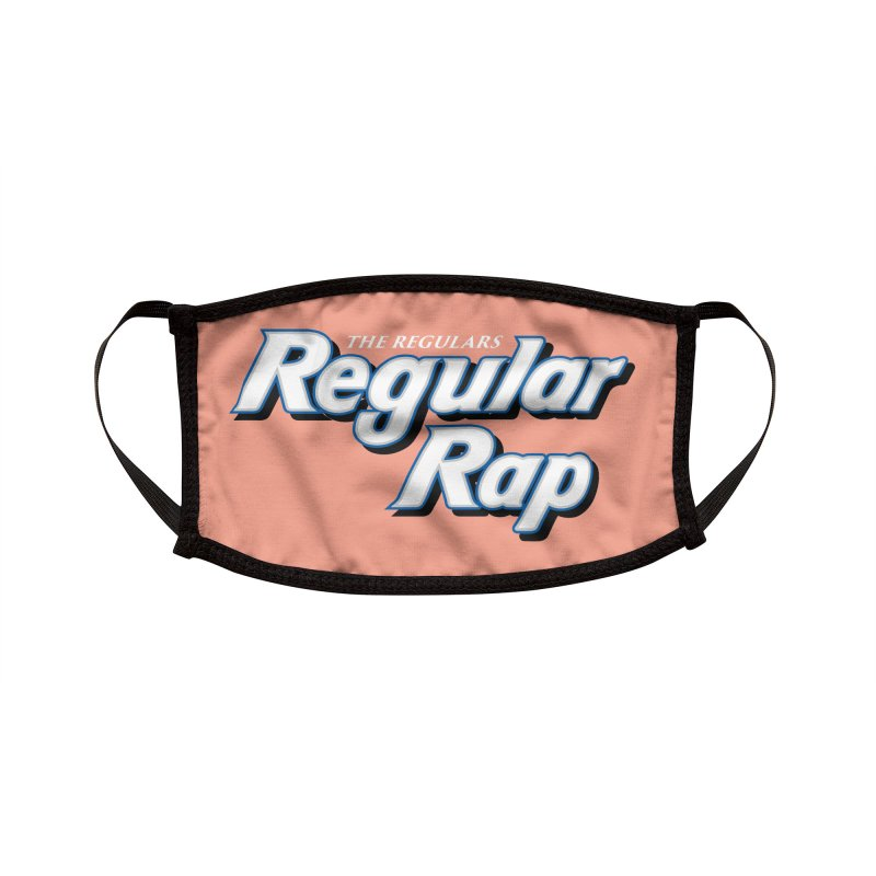 Regular Rap Accessories Face Mask by RIK.Supply