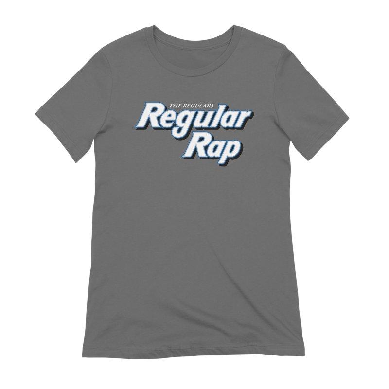 Regular Rap Women's Slip-On Shoes by RIK.Supply