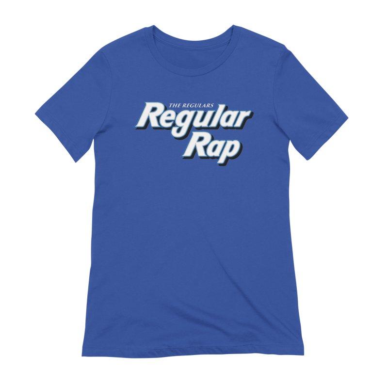Regular Rap Women's Extra Soft T-Shirt by RIK.Supply