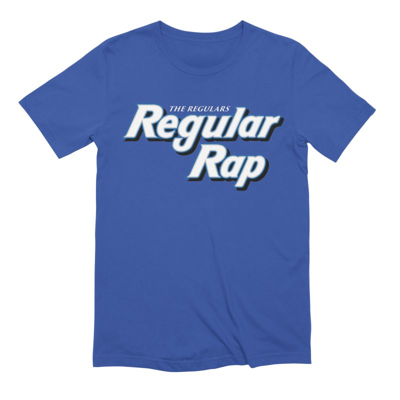 Regular Rap Men's Extra Soft T-Shirt by RIK.Supply