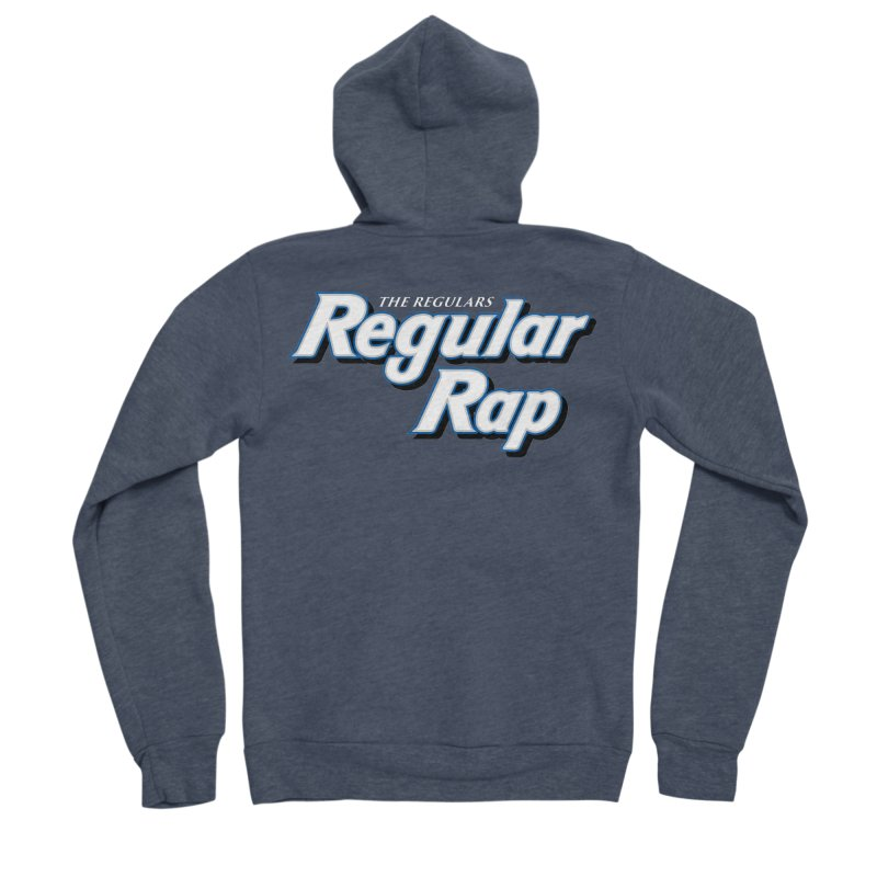 Regular Rap Women's Sponge Fleece Zip-Up Hoody by RIK.Supply