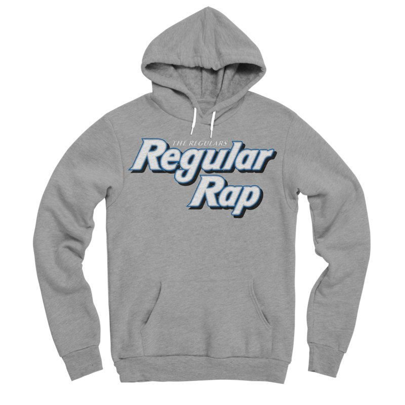 Regular Rap Men's Sponge Fleece Pullover Hoody by RIK.Supply