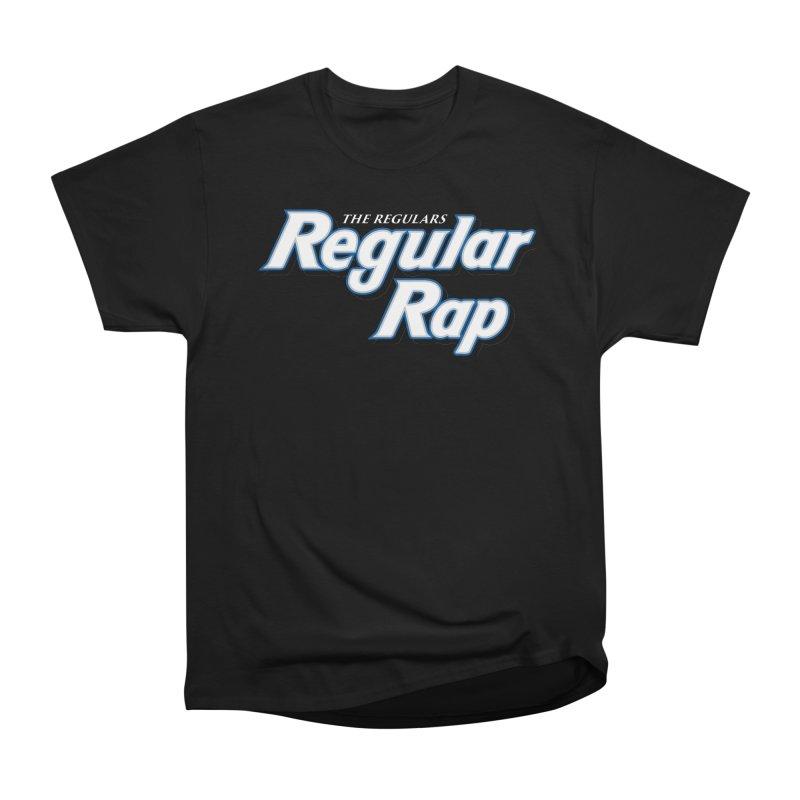 Regular Rap Men's Heavyweight T-Shirt by RIK.Supply