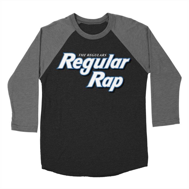 Regular Rap Women's Baseball Triblend Longsleeve T-Shirt by RIK.Supply