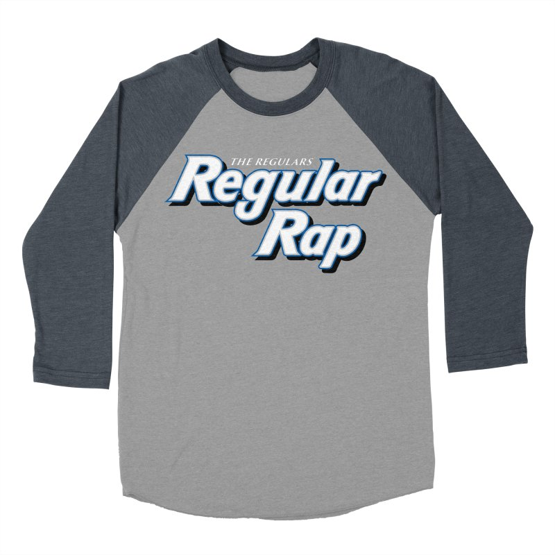 Regular Rap Women's Baseball Triblend Longsleeve T-Shirt by RIK.Supply