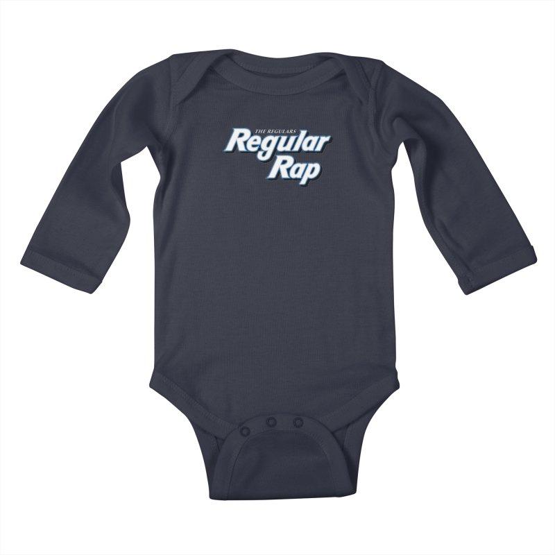 Regular Rap Kids Baby Longsleeve Bodysuit by RIK.Supply