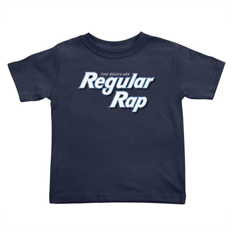 Regular Rap Kids Toddler T-Shirt by RIK.Supply