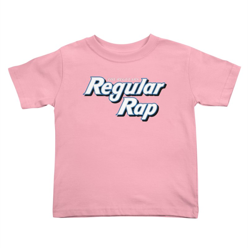 Regular Rap Kids Toddler T-Shirt by RIK.Supply