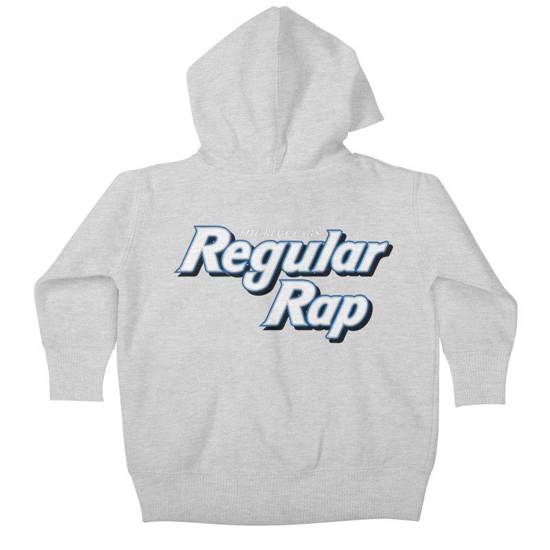 Regular Rap Kids Baby Zip-Up Hoody by RIK.Supply