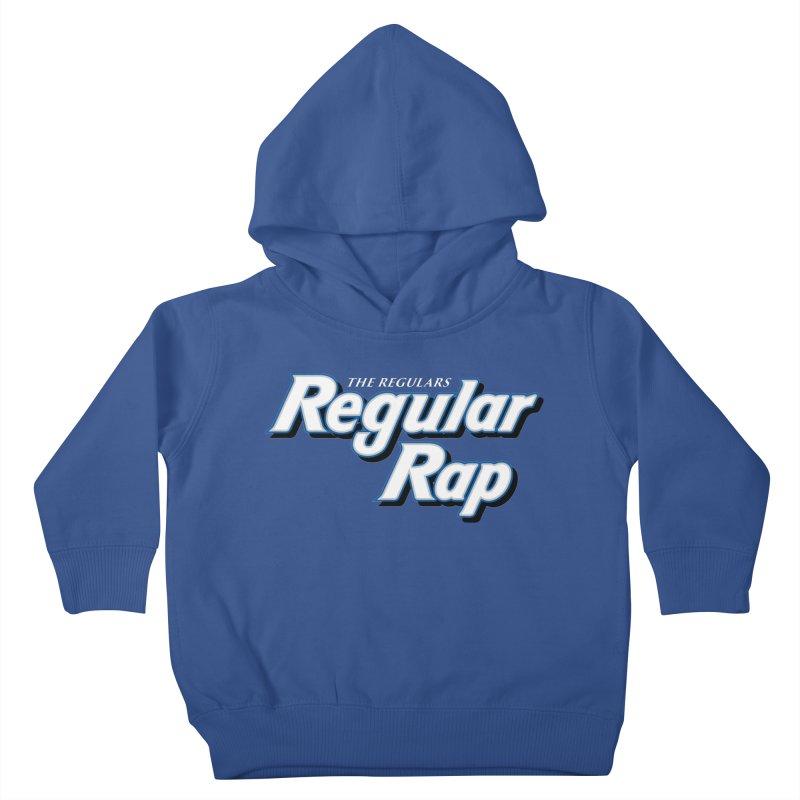 Regular Rap Kids Toddler Pullover Hoody by RIK.Supply