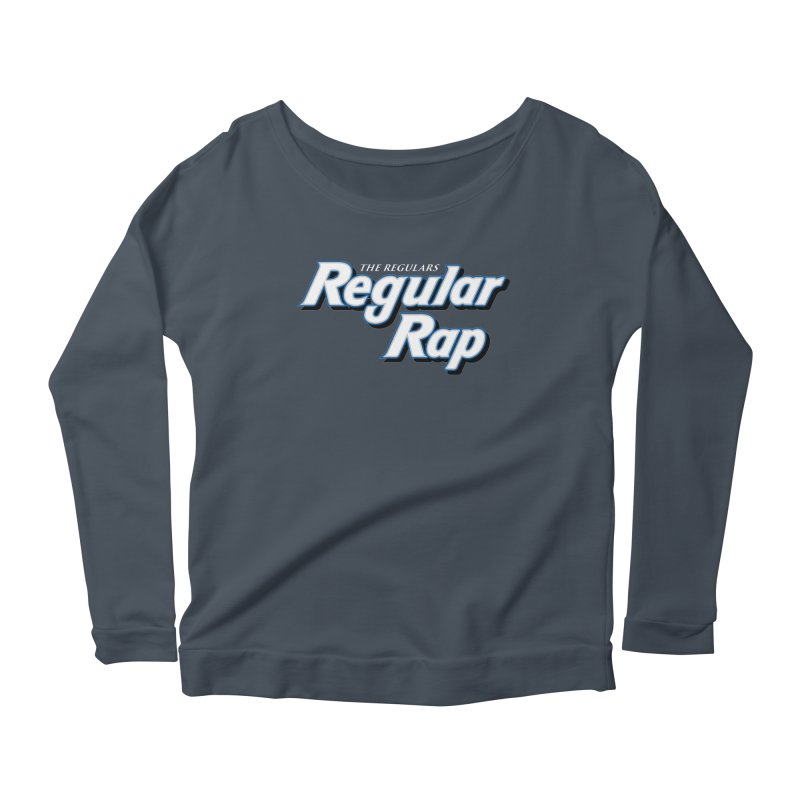 Regular Rap Women's Scoop Neck Longsleeve T-Shirt by RIK.Supply
