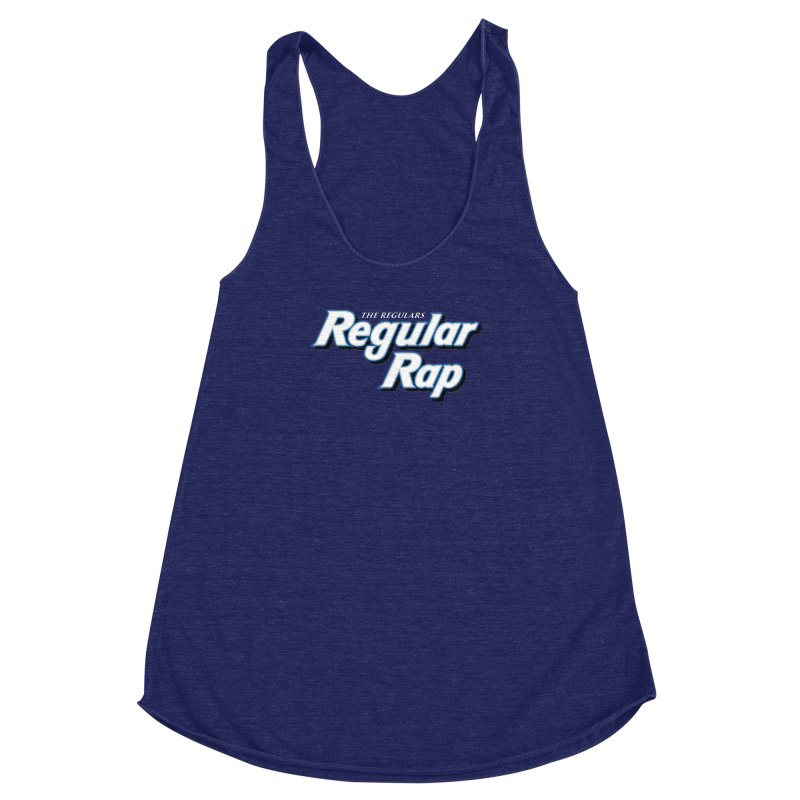 Regular Rap Women's Racerback Triblend Tank by RIK.Supply