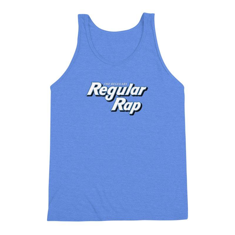 Regular Rap Men's Triblend Tank by RIK.Supply