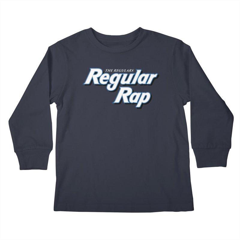 Regular Rap Kids Longsleeve T-Shirt by RIK.Supply