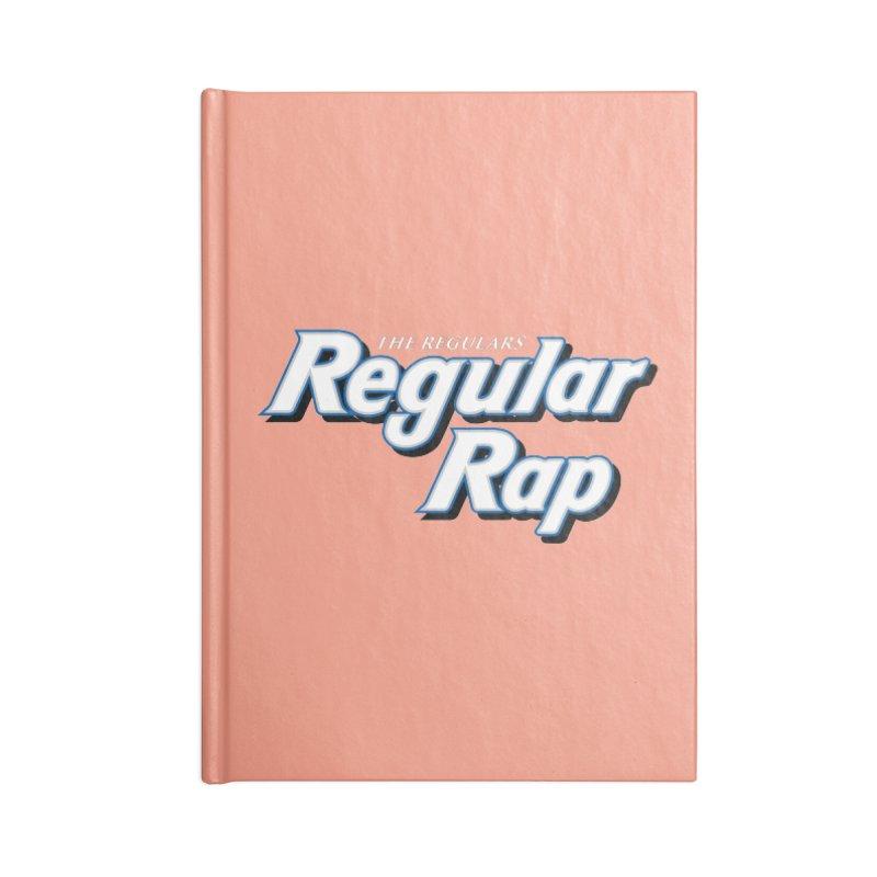 Regular Rap Accessories Lined Journal Notebook by RIK.Supply