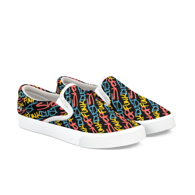 SlopFunkDust ASR 10 Vol. 2 Women's Slip-On Shoes by RIK.Supply