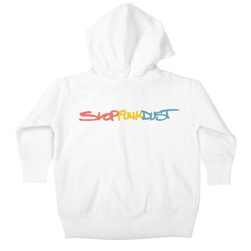 SlopFunkDust ASR 10 Vol. 2 Kids Baby Zip-Up Hoody by RIK.Supply