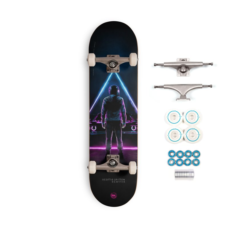 S. C. O. T. T. I. E. Accessories Complete - Basic Skateboard by RIK.Supply