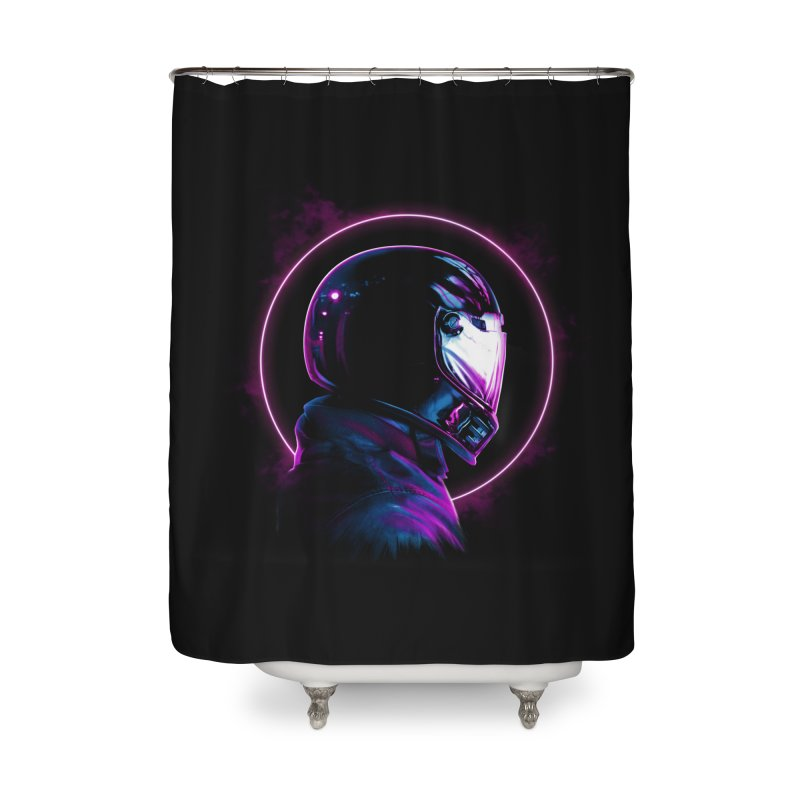THE WRAITH Home Shower Curtain by RIK.Supply