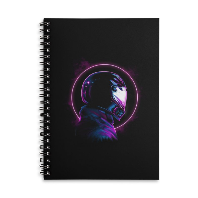 THE WRAITH Accessories Lined Spiral Notebook by RIK.Supply