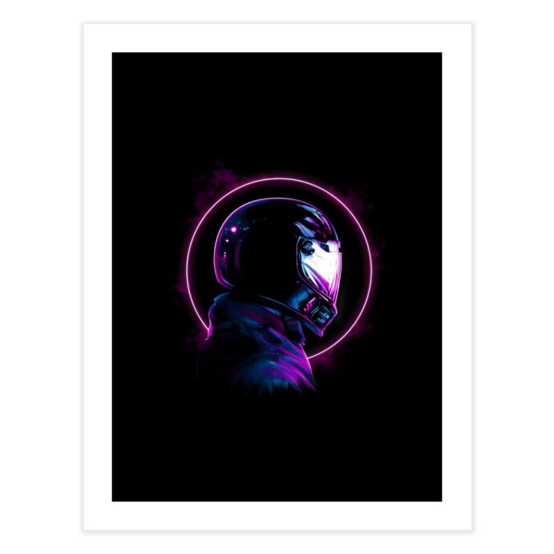 THE WRAITH Home Fine Art Print by RIK.Supply