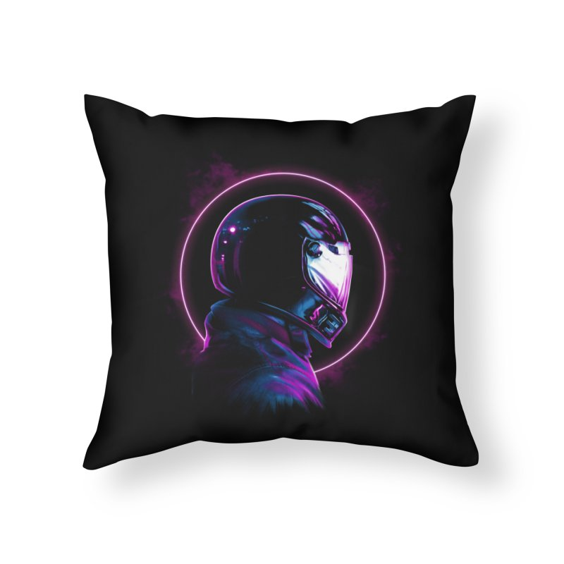 THE WRAITH Home Throw Pillow by RIK.Supply