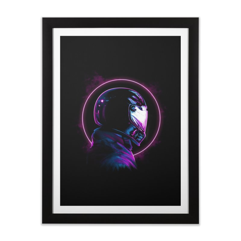 THE WRAITH Home Framed Fine Art Print by RIK.Supply