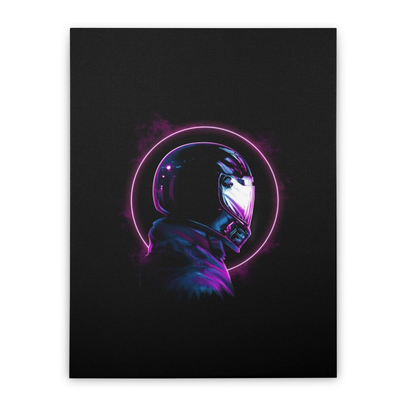 THE WRAITH Home Stretched Canvas by RIK.Supply