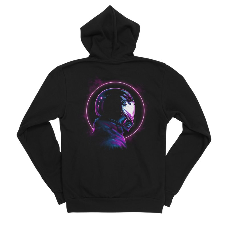 THE WRAITH Women's Sponge Fleece Zip-Up Hoody by RIK.Supply