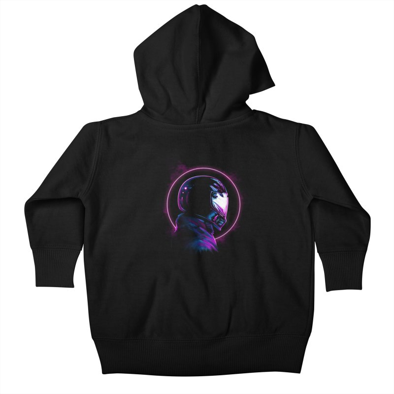 THE WRAITH Kids Baby Zip-Up Hoody by RIK.Supply