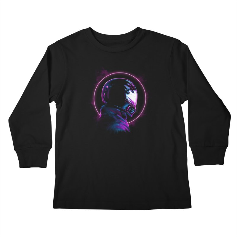 THE WRAITH Kids Longsleeve T-Shirt by RIK.Supply
