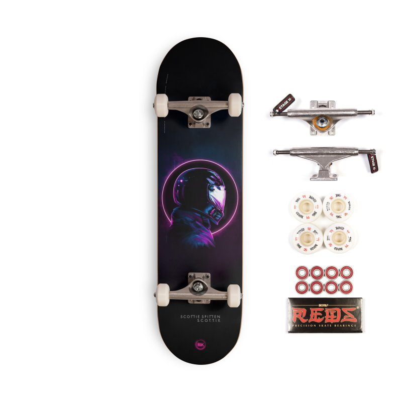 THE WRAITH Accessories Complete - Pro Skateboard by RIK.Supply