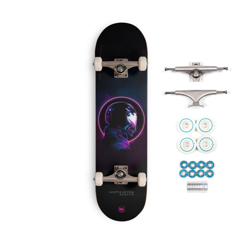 THE WRAITH Accessories Complete - Basic Skateboard by RIK.Supply