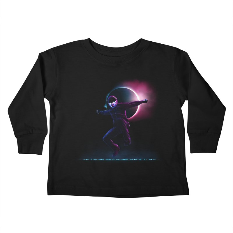 S T A R M A N Kids Toddler Longsleeve T-Shirt by RIK.Supply