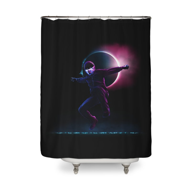 S T A R M A N Home Shower Curtain by RIK.Supply