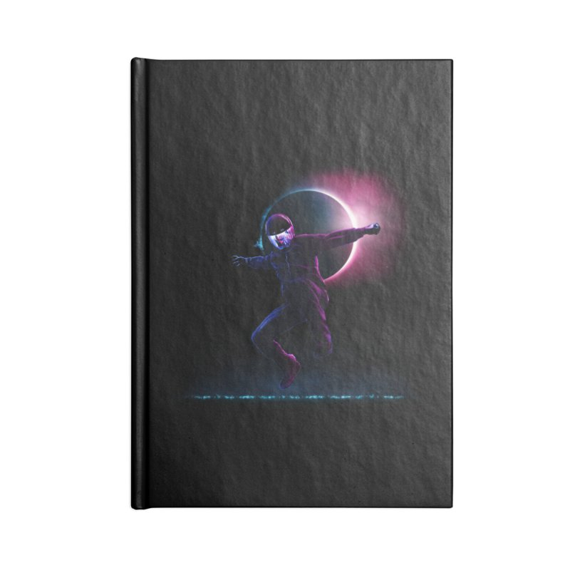 S T A R M A N Accessories Lined Journal Notebook by RIK.Supply