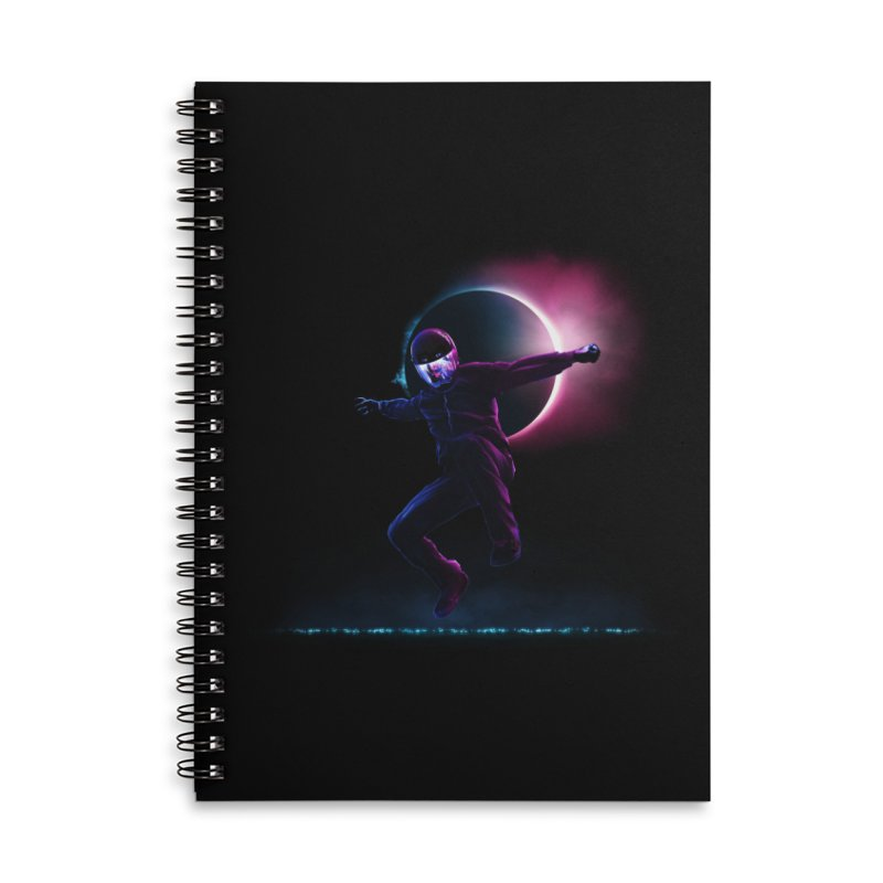 S T A R M A N Accessories Lined Spiral Notebook by RIK.Supply