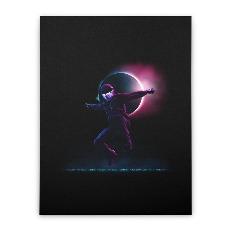S T A R M A N Home Stretched Canvas by RIK.Supply