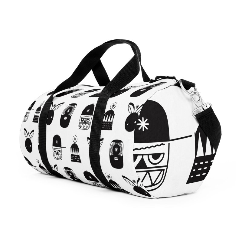 We Are Radio Galaxy Accessories Duffel Bag Bag by RIK.Supply
