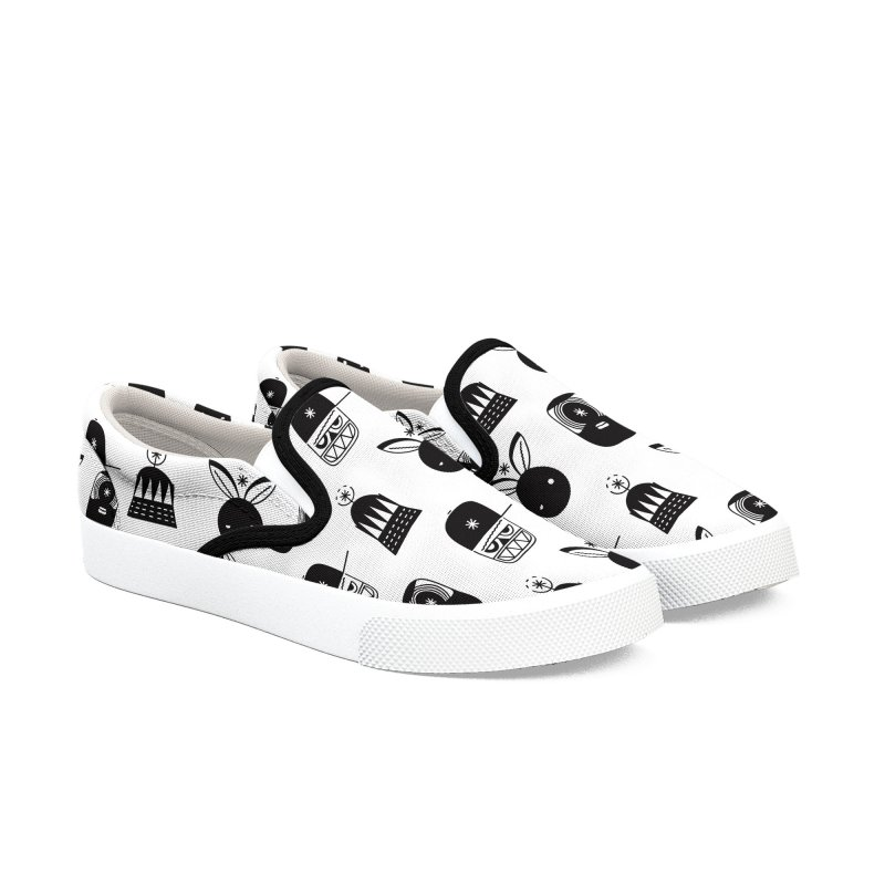 We Are Radio Galaxy Women's Slip-On Shoes by RIK.Supply