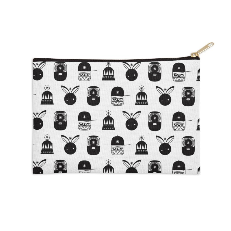 We Are Radio Galaxy Accessories Zip Pouch by RIK.Supply