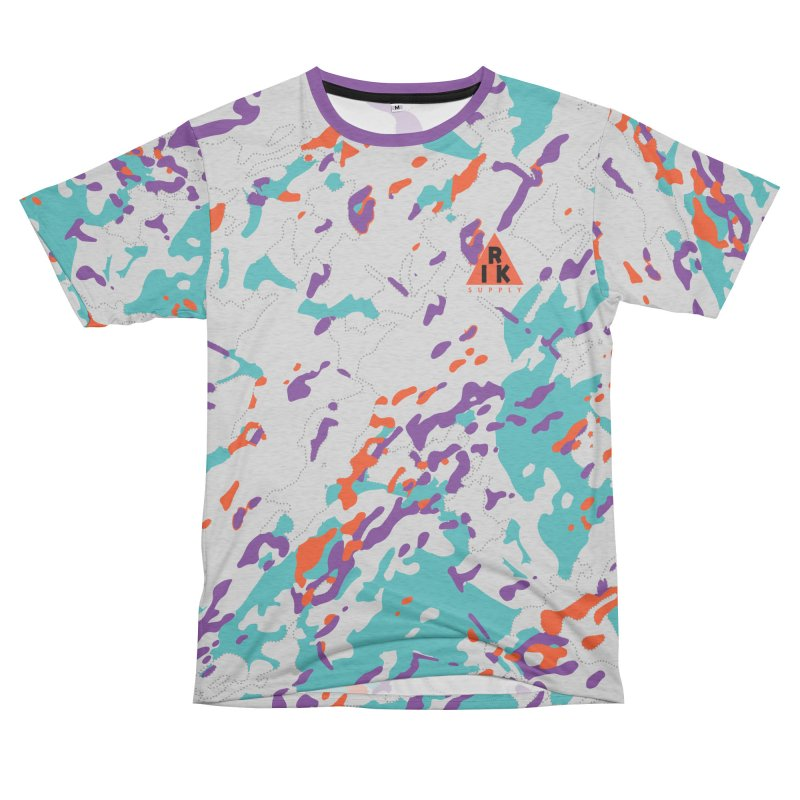 RIK.Supply (Spring Flecktarn) Men's French Terry T-Shirt Cut & Sew by RIK.Supply
