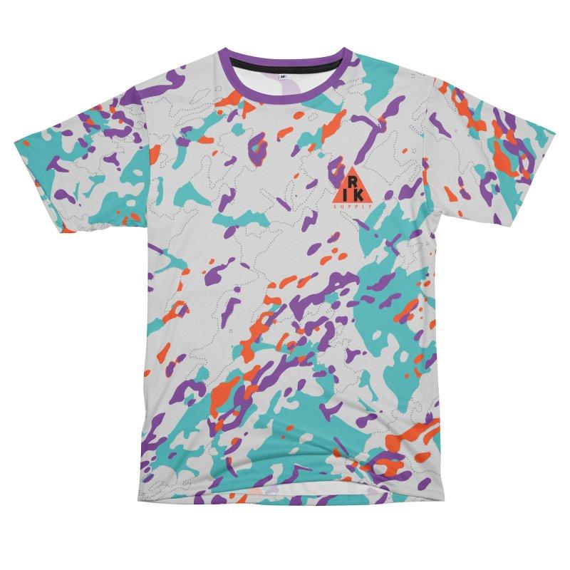RIK.Supply (Spring Flecktarn) Men's T-Shirt Cut & Sew by RIK.Supply