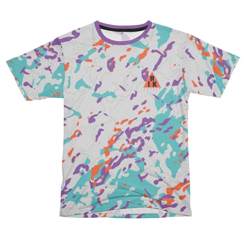 RIK.Supply (Spring Flecktarn) Women's Unisex French Terry T-Shirt Cut & Sew by RIK.Supply