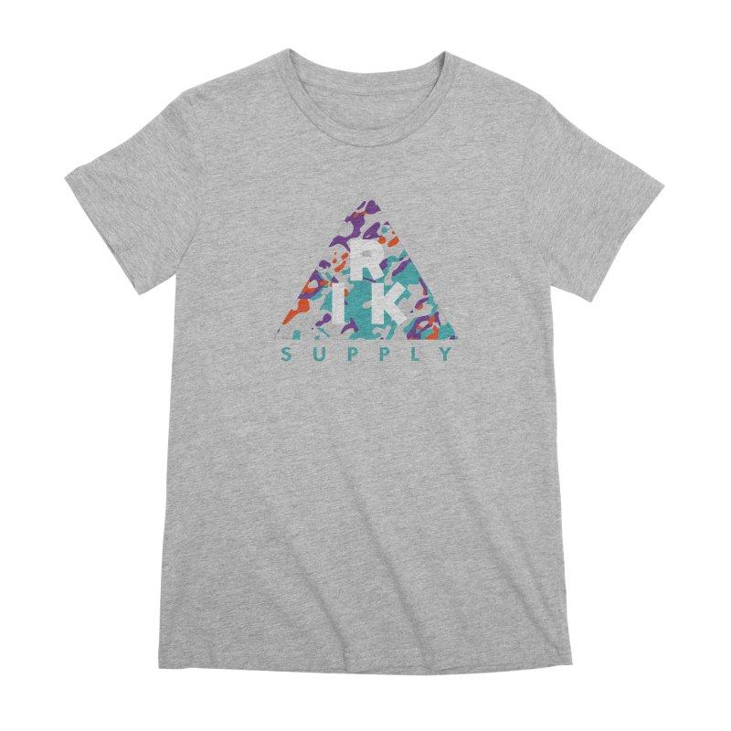 RIK.Supply (Spring Flecktarn) Women's Premium T-Shirt by RIK.Supply