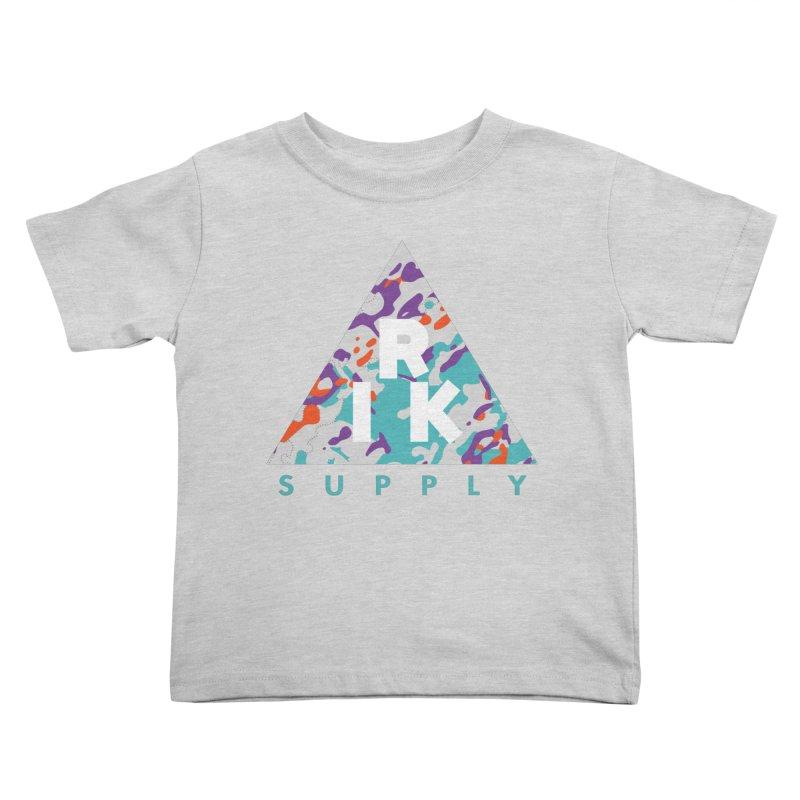 RIK.Supply (Spring Flecktarn) Kids Toddler T-Shirt by RIK.Supply