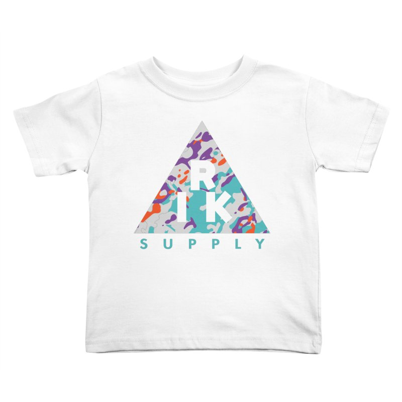 RIK.Supply (Spring Flecktarn) Kids Toddler T-Shirt by RIK.Supply